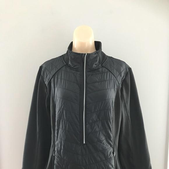 49b839a507e0 Champion Duo Dry 1 2 Zip Athletic Jacket SZ XXL